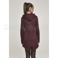 Urban Classics Dames Sweat Parka RedWijn