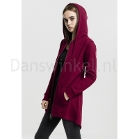 Urban Classics Dames Sweat Parka Burgundy links