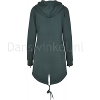 Urban Classics Dames Sweat Parka BottleGreen