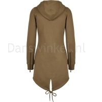 Urban Classics Dames Sweat Parka SummerOlive