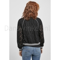 Urban Classics Ladies Lace College Blouson achter