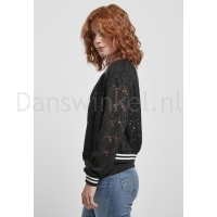 Urban Classics Ladies Lace College Blouson linker kant