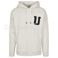 Urban Classics Oversized Frottee Patch Hoody patroon