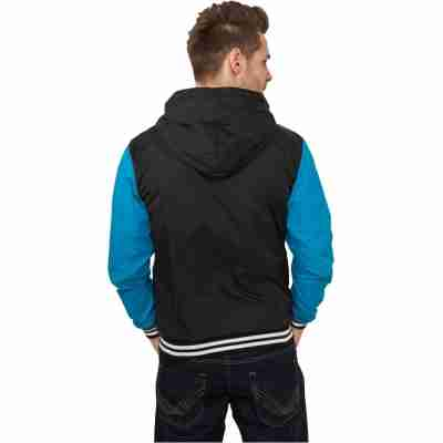 Urban Classics University Windbreaker Blauw