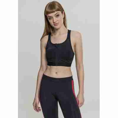 Urban Classics Ladies Tech Mesh Zipped Bra algemeen