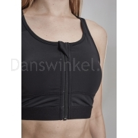 Urban Classics Ladies Tech Mesh Zipped Bra detail