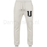 Urban Classics Frottee Patch Sweatpants voorkant