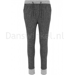 Urban Classics Ladies Melange Contrast Sweatpants