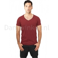 Urban Classics Fitted V-Neck Tee