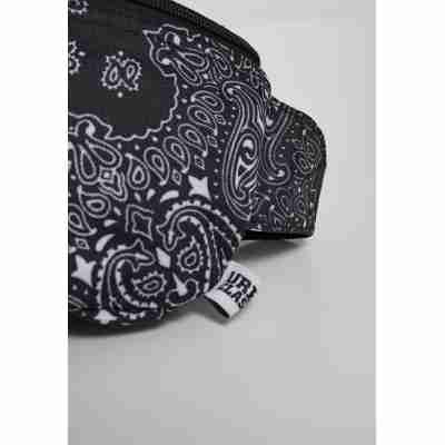 Urban Classics Bandana Print Hip Bag detail
