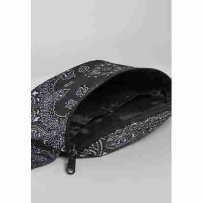 Urban Classics Bandana Print Hip Bag open