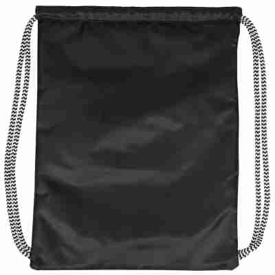 Urban Classics Ball Gym Bag wit achter