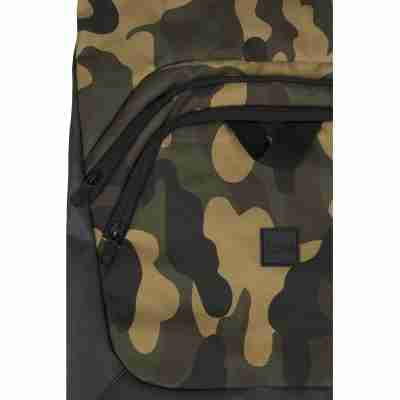Urban Classics Ball Gym Bag camo groen