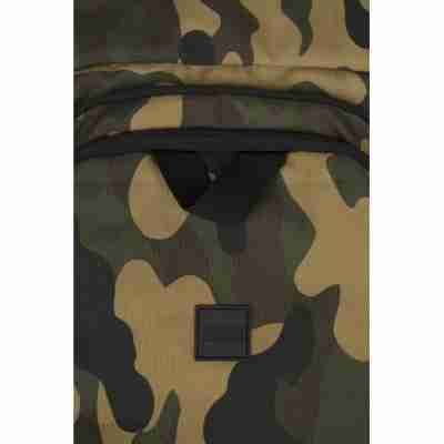 Urban Classics Ball Gym Bag camouflage groen
