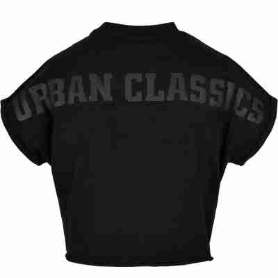 Urban Classics Ladies Short Oversized Cut On Sleeve Tee