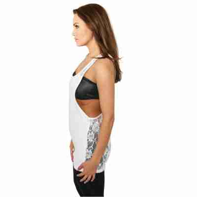 Urban Classics Flower Laces Loose Tank