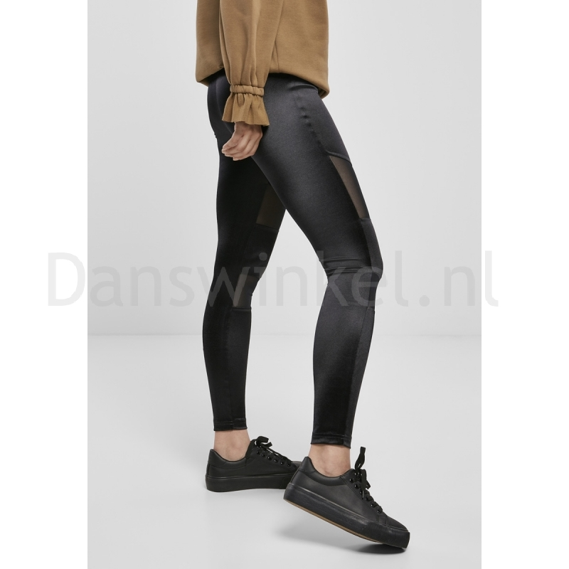Urban Classics Ladies Shiny Tech Mesh Leggings rechts
