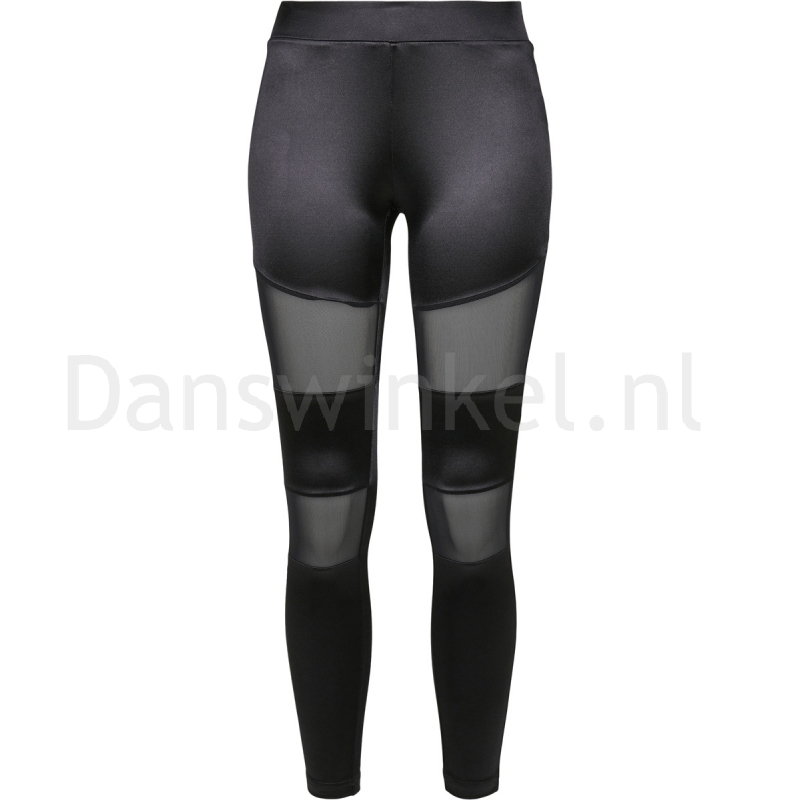 Urban Classics Ladies Shiny Tech Mesh Leggings
