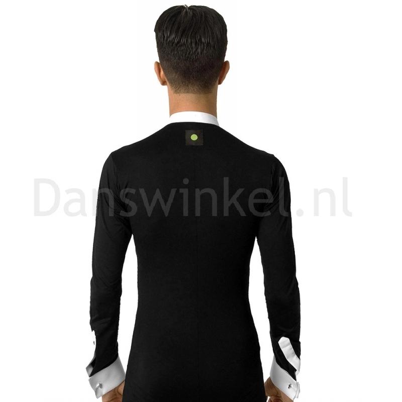Very Zofcin Performance Shirt Slimfit Zwart