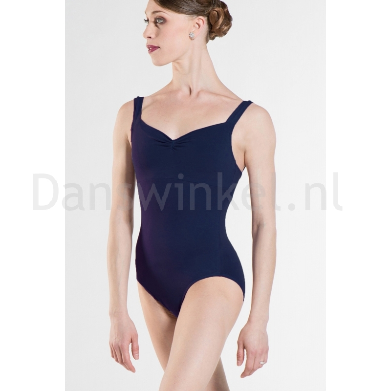 Wear Moi Dames BalletPak Mabel navy met plooi