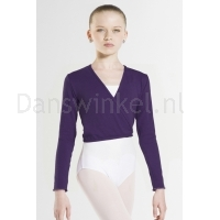 Wear Moi Dames Top Carmen donker paars
