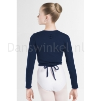 Wear Moi Dames Top Carmen navy achter