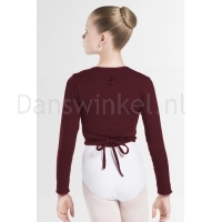 Wear Moi Dames Top Carmen bordeaux achter