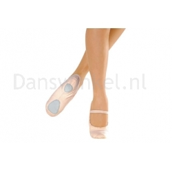 SoDanca BAE23 balletschoenen met splitzool en koortje