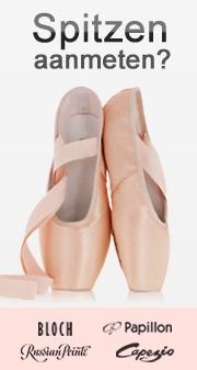 Spitzen voor ballet aanmeten?
